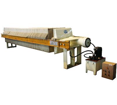 液压式压滤机